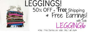Cents of Style Leggings Sale – 50% OFF + FREE Shipping!