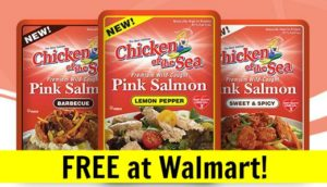 FREE Chicken of the Sea Salmon Pouch at Walmart! (+ Salmon Cakes Recipe)
