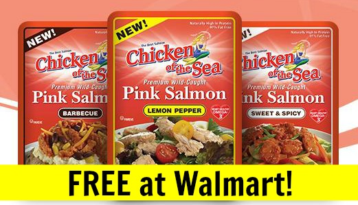 FREE Chicken of the Sea Salmon Pouch at Walmart! (+ Salmon Cakes Recipe)