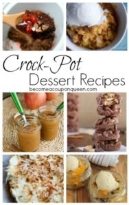 Crock-Pot Dessert Recipes