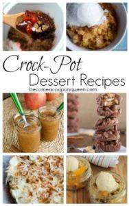 Crock-Pot Dessert Recipes