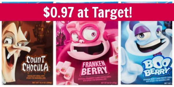 Target: General Mills Halloween Cereal Only $0.97! - Become a ...