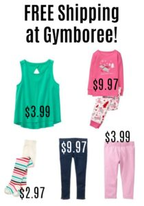 FREE Shipping at Gymboree + HUGE Discounts for Girls!!
