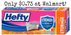 Walmart: Hefty Slider Bags Only $0.73!