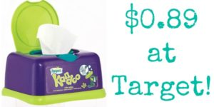 Target: Kandoo Wipes Only $0.89!