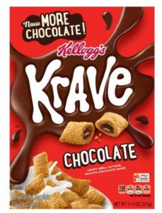 Target: Krave Cereal as low as $0.80!
