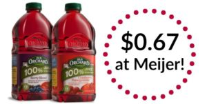 Meijer: Old Orchard Juice Only $0.67!