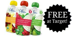 FREE Plum Organics Pouches at Target!