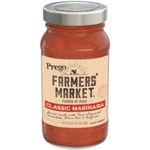 Walmart: Prego Farmers' Market Pasta Sauce Only $1.73!