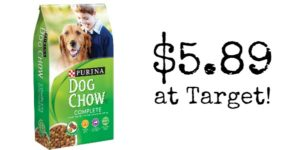 Target: Purina Dog Chow Complete Only $5.89!