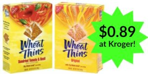 Kroger: Wheat Thins Crackers Only $0.89!