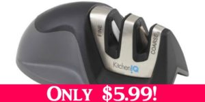 2 Stage Knife Sharpener Only $5.99!
