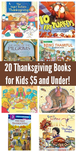 Surprise the kids with any of these 20 great Thanksgiving-themed books. They'd be perfect for reading as a family after Thanksgiving dinner!