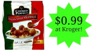 Kroger: Cooked Perfect Meatballs Only $0.99!