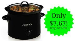 Crock-Pot Manual Slow Cooker Just $7.67! (reg. $17.99)
