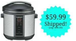 Cuisinart 6-Quart Electric Pressure Cooker – $59.99 Shipped! Today Only!
