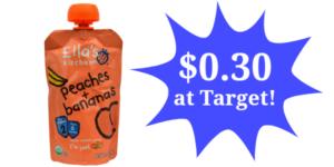 Target: Ella's Kitchen Pouches Only $0.30!