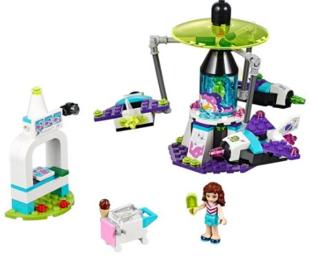 LEGO Friends Amusement Park Space Ride Building Kit