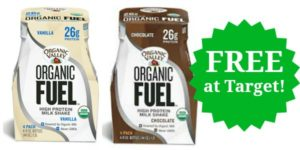 FREE Organic Valley Fuel Protein Shakes Multi-Pack at Target!