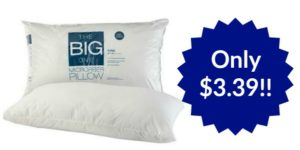 The Big One Microfiber Pillows Only $3.39!