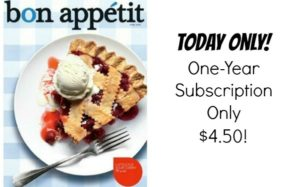 Bon Appetit Magazine Just $4.50 per Year!