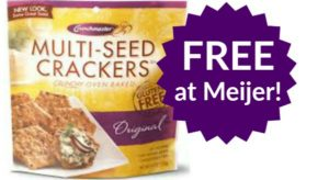 FREE Crunchmaster Crackers at Meijer!