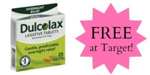 FREE Dulcolax Products at Target!