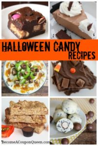 Halloween Candy Recipes! Great for Leftover Halloween Candy!