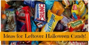 Ideas for Leftover Halloween Candy!