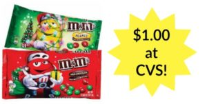 CVS: M&M's Candy Bags Only $1.00!
