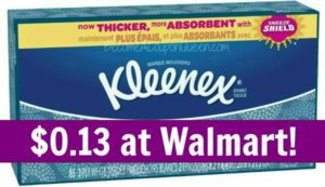 Walmart: Kleenex Boxes Only $0.13!