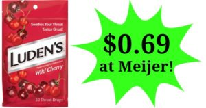 Meijer: Lunden's Throat Drops Only $0.69!