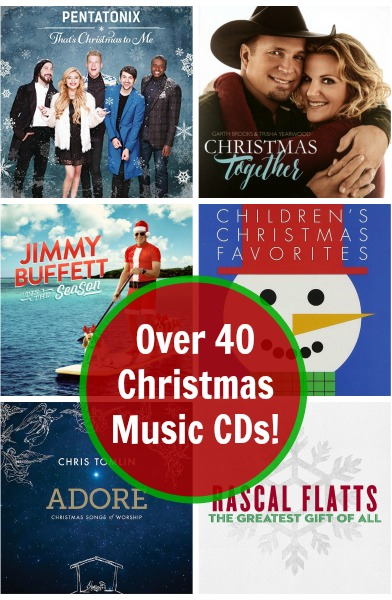 Over 40 Christmas Music CDs on Amazon!