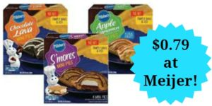 Meijer: Pillsbury Mini Pies Only $0.79!