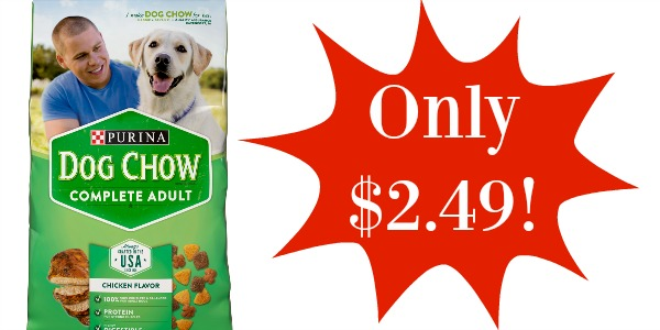 Purina dog chow coupons walmart
