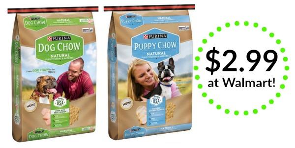 Walmart Puppy Chow Natural Dog Food