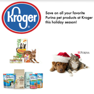 Save on Purina Pet Products at Kroger! #ToPetsWithLove #ad