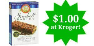 Kroger: Sunbelt Granola Bars Only $1.00!