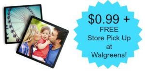 4×4 Framed Photo Magnet Only $0.99 + FREE Store Pick Up! (reg. $6.99)