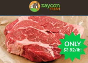 Save 15% on Zaycon Fresh USDA Choice Chuck Roast – $3.82/lb!