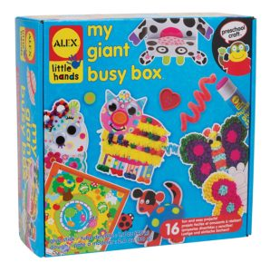 ALEX Toys Little Hands My Giant Busy Box Only $17.66!
