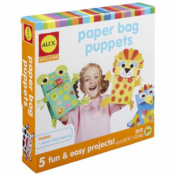 ALEX Toys Little Hands Paper Bag Puppets Kit