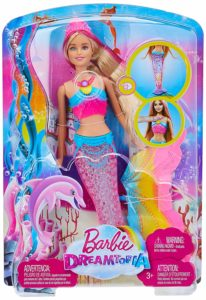 Barbie Rainbow Lights Mermaid Doll Only $12.19!