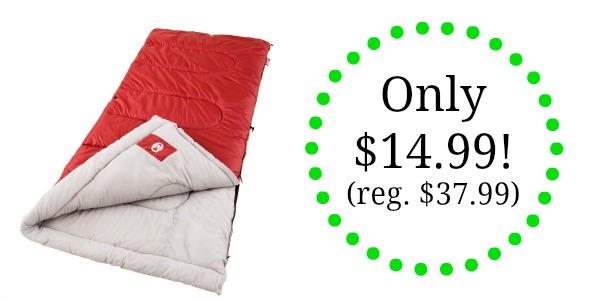 Coleman Palmetto Cool Weather Sleeping Bag Only 14 99 Reg 37 Become A Coupon Queen