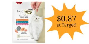 Target: Fancy Feast Purely Cat Treats Only $0.87!