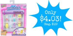 Happy Places Shopkins Decorator Pack Bathing Bunny Only $4.03 (Reg. $13)!