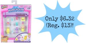 Happy Places Shopkins Decorator Pack Bathing Bunny Only $6.32 (Reg. $13)!