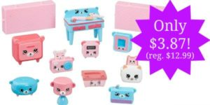 Happy Places Shopkins Decorator Pack Dreamy Bear Set Only $3.87 (Reg. $12.99)!