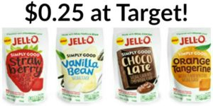Target: Jell-O Simply Good Gelatin or Pudding Mix at Target Only $0.25!