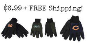 NFL Sport Utility Gloves Only $6.99 + FREE Shipping!